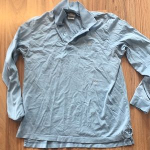 Lacoste size 5 long sleeve collar shirt